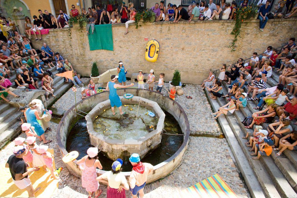 Festival en Bastides, Villefranche-de-Rouergue, Aveyron  © D.Trebosc - Ciel Bleu