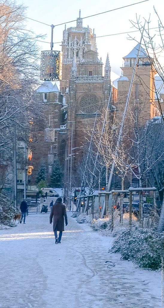 L'hiver à Rodez, Aveyron