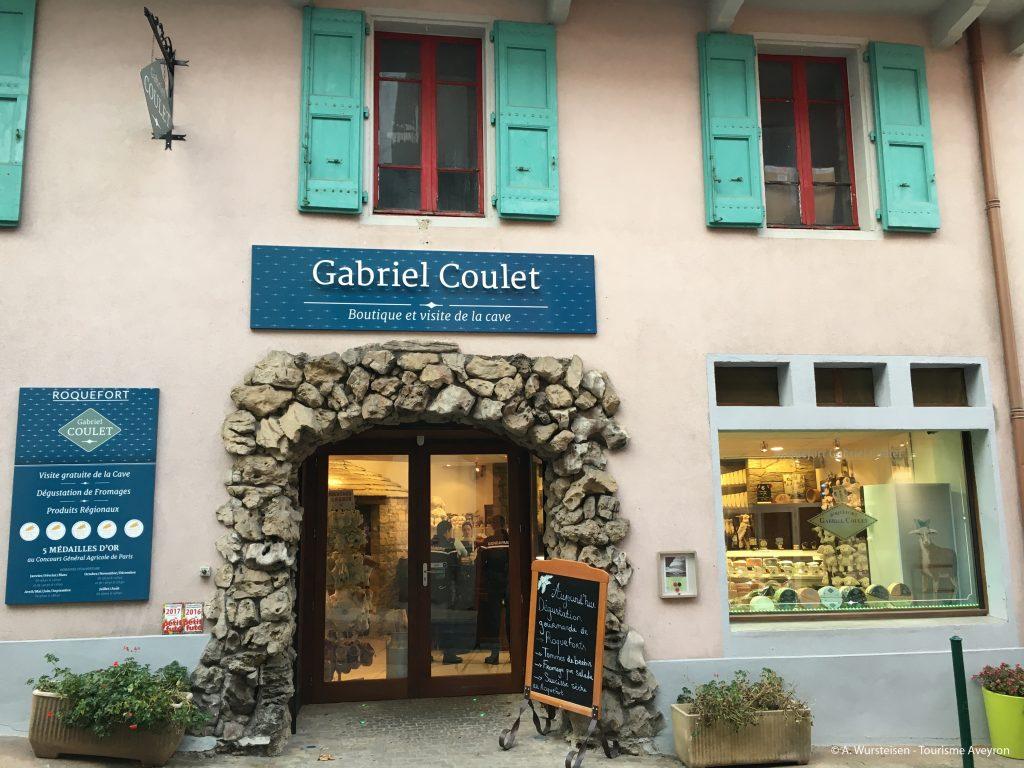 Cave Gabriel Coulet, Roquefort, boutique © A. Wursteisen