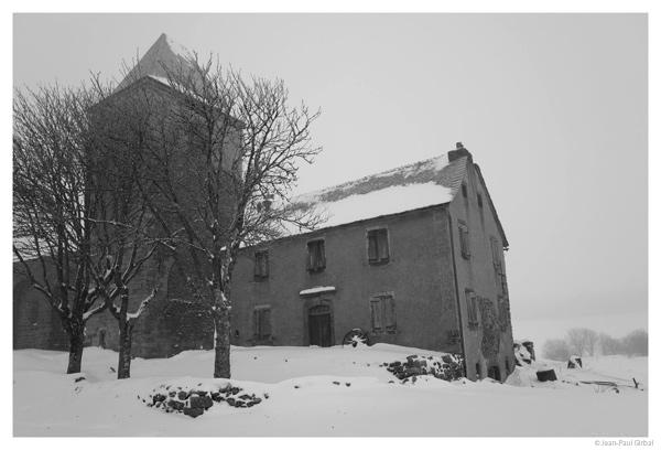 Village d'Aubrac, Aveyron © Jean-Paul Girbal