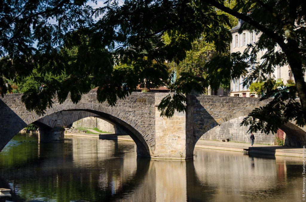 Pont, Villefranche-de-Rouergue, Aveyron © M. Hennessy