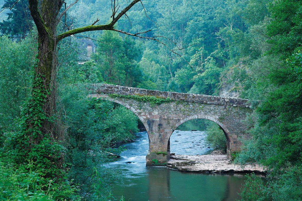 Pont de Conques © OT Conques