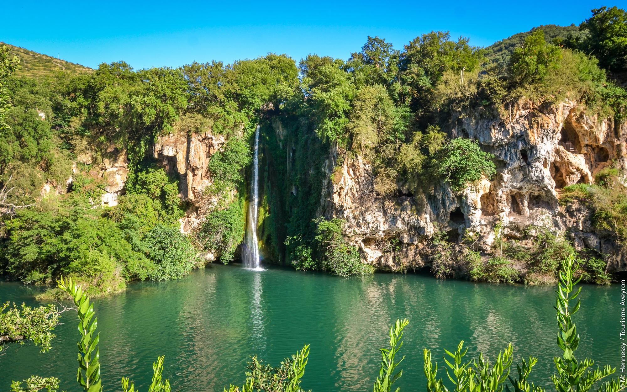 Cascade des Baumes, Saint-Rome-de-Tarn, Vallée du Tarn, Aveyron