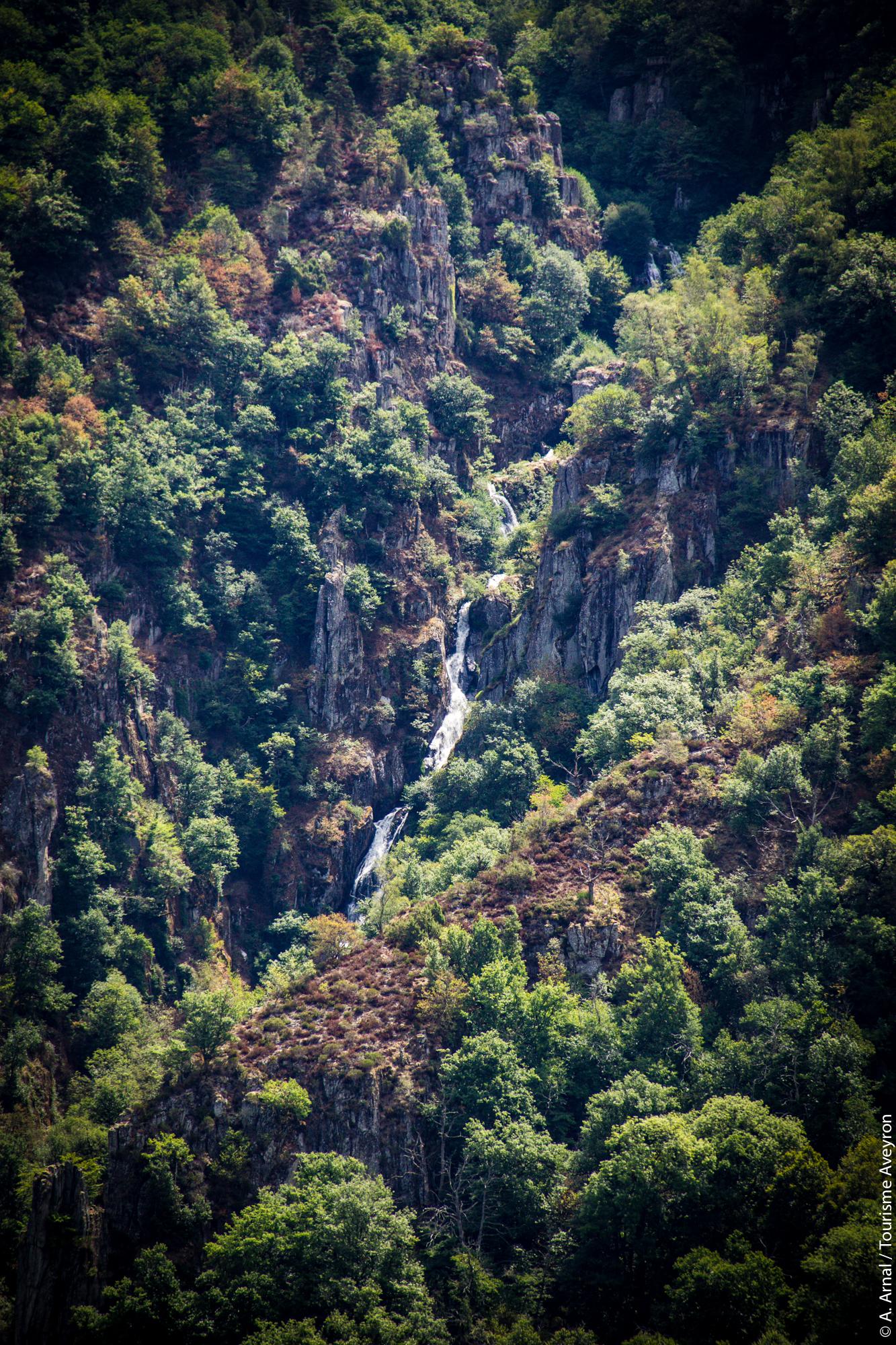 Cascade du Saut du chien © A. Arnal - Tourisme Aveyron