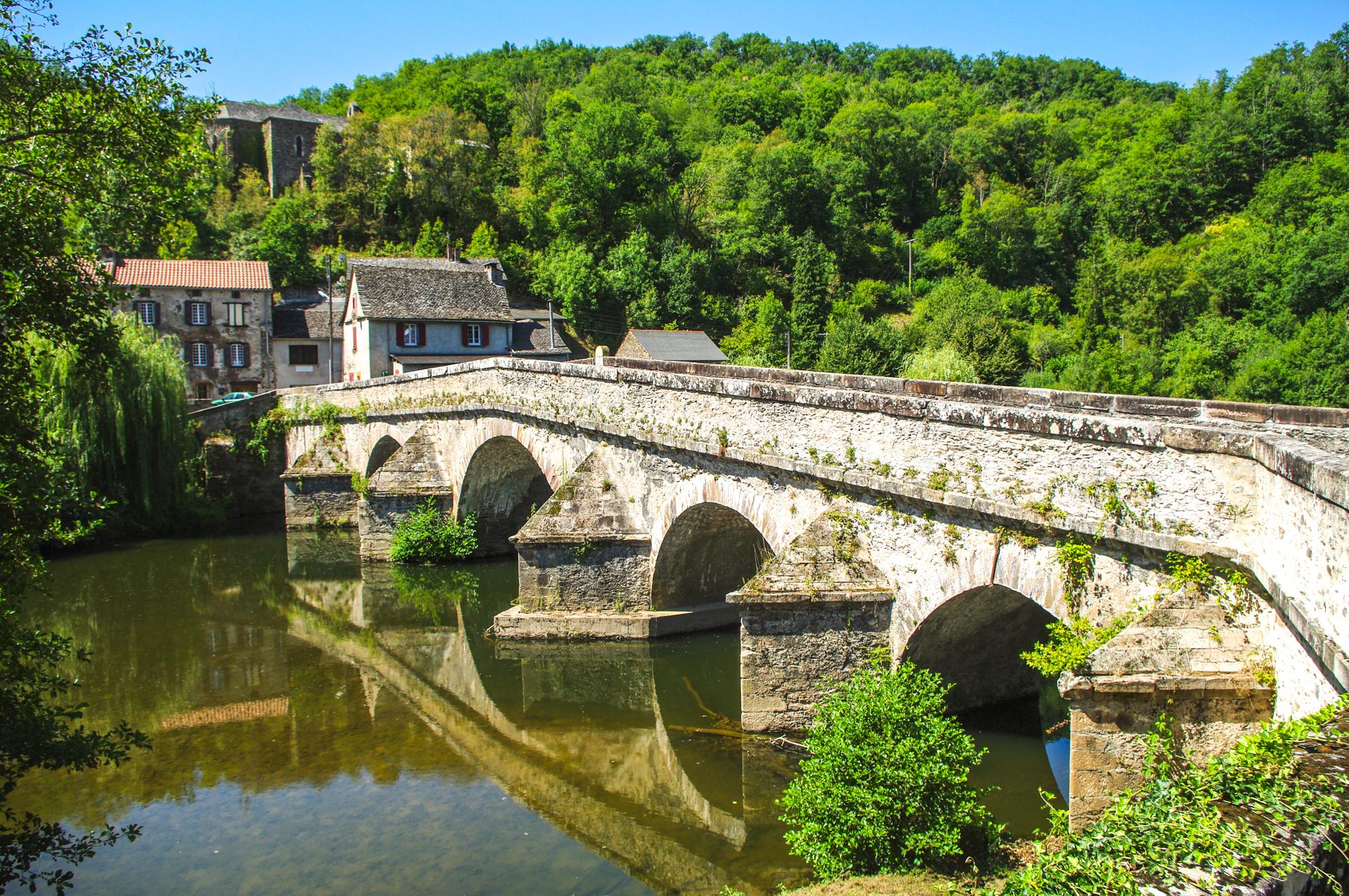 Pont de Cirou © OT Pays Ségali