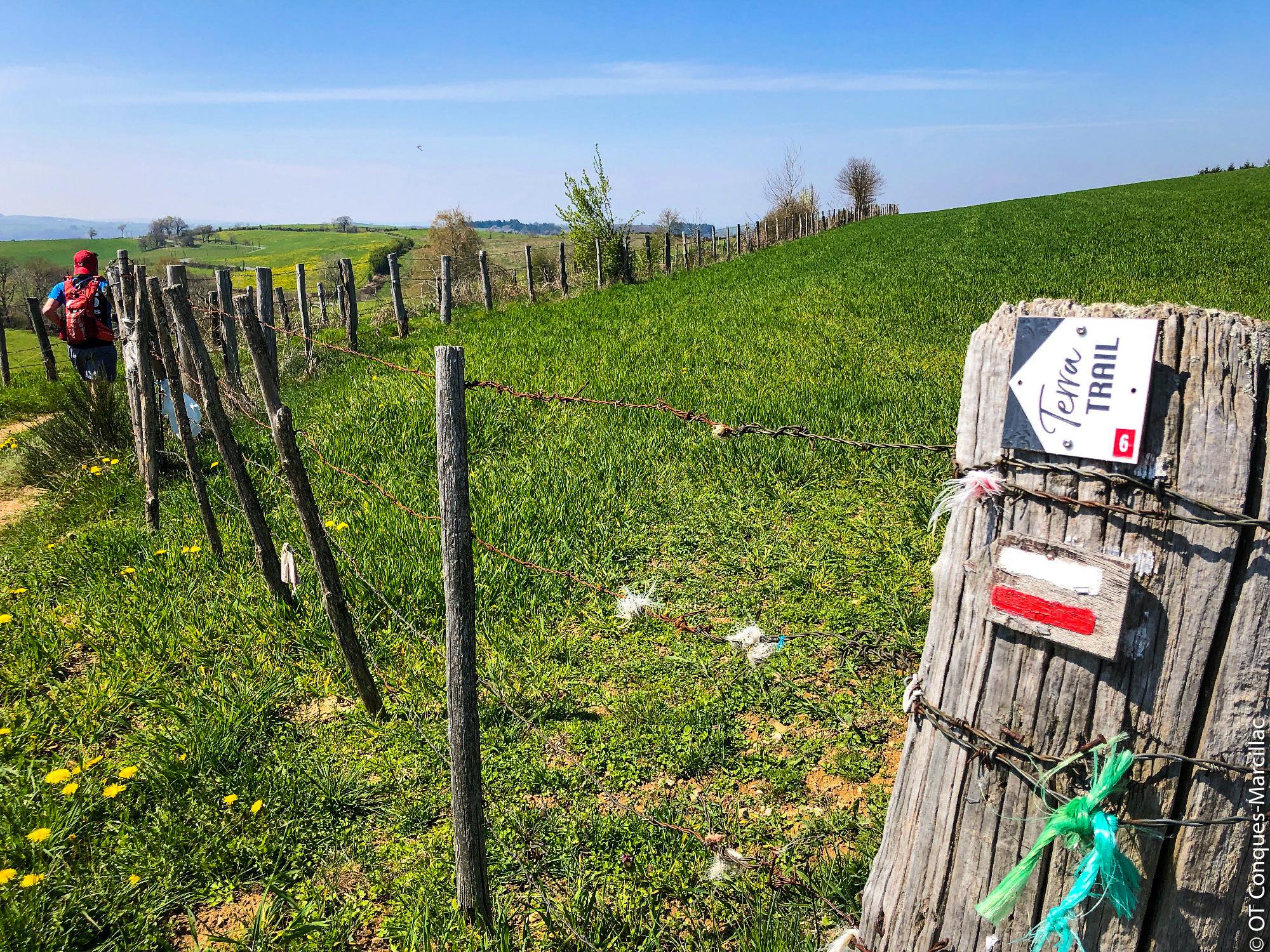 Trail de Sénergues © OT Conques-Marcillac