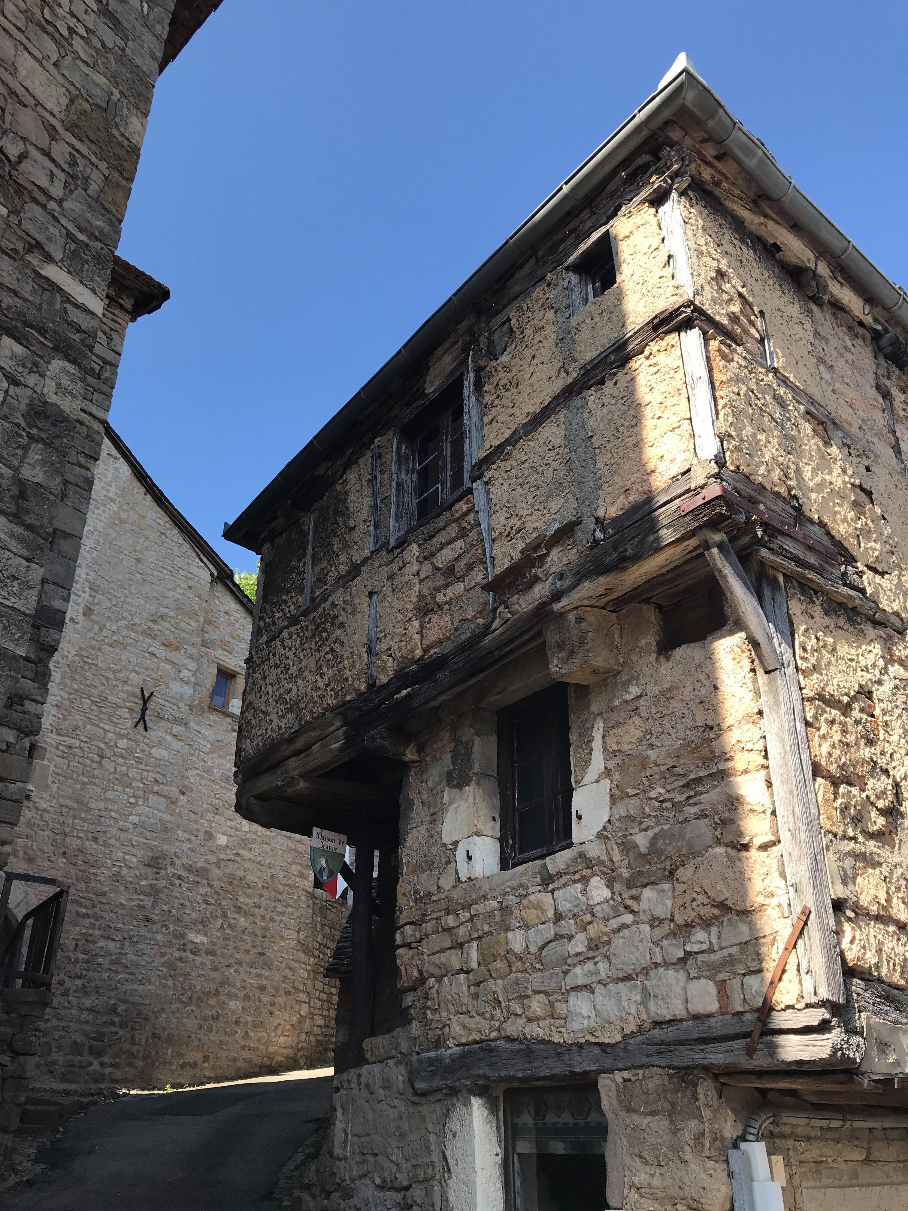 Maison de Jeanne à Sévérac-le-Château © M. Hennessy - Tourisme Aveyron