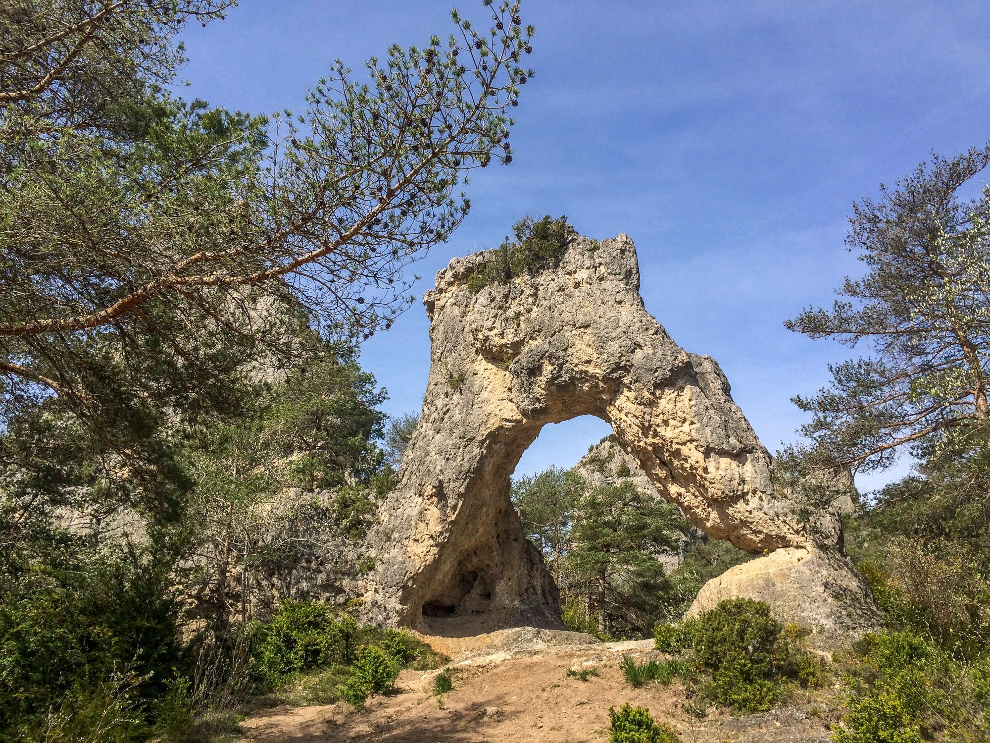 Arche à la Cité de Pierres