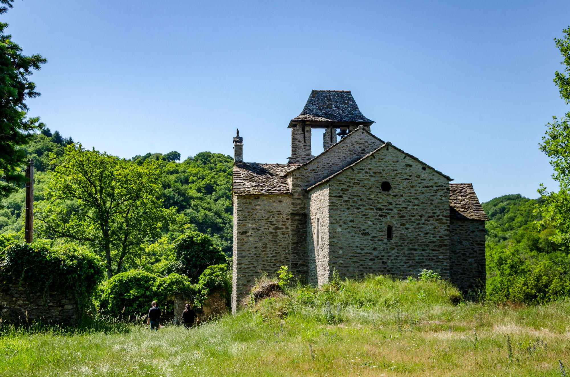 Chapelle de Villelongue © M. Hennessy - Tourisme Aveyron