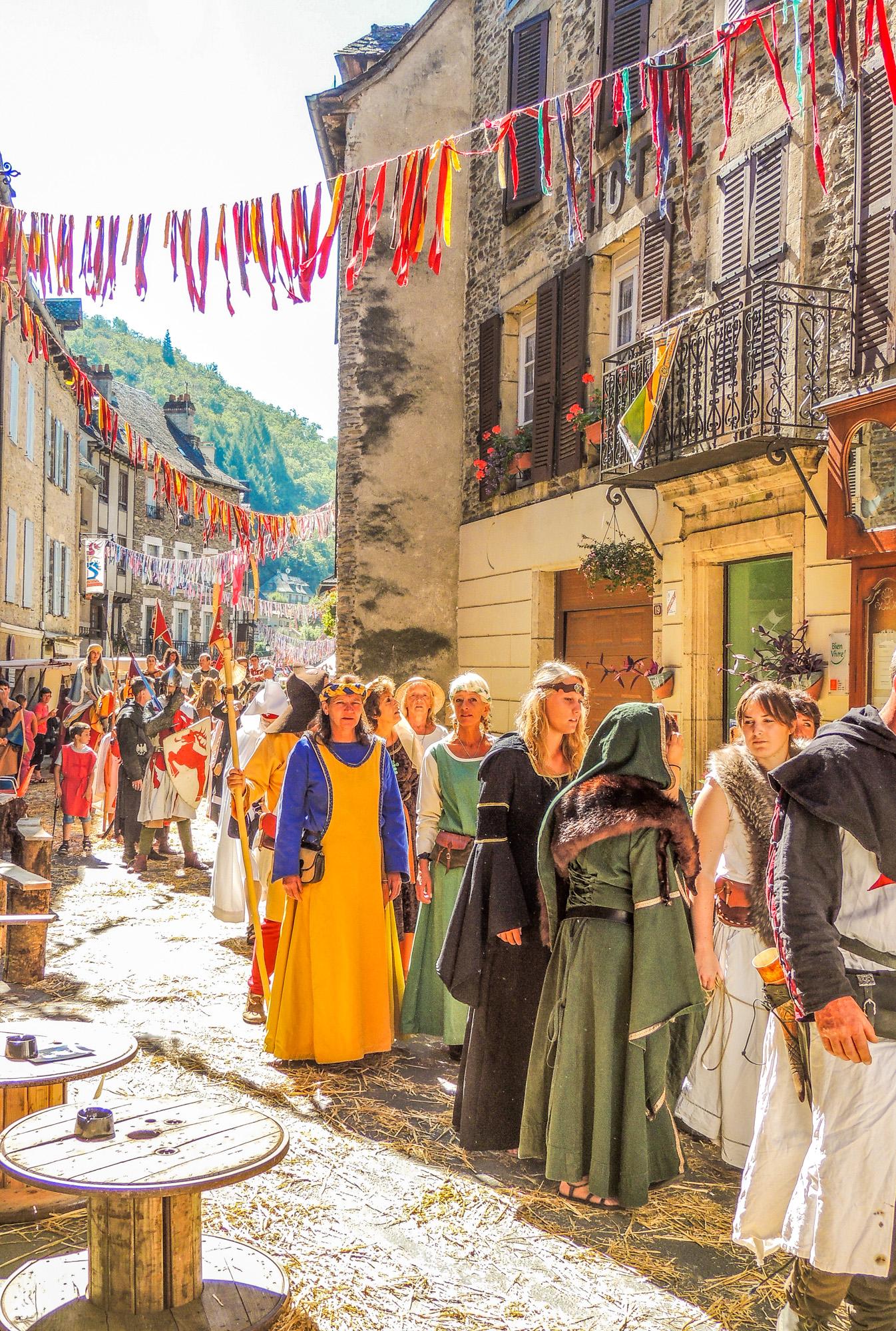 Médiévales d'Estaing © M. Fabre - Tourisme Aveyron