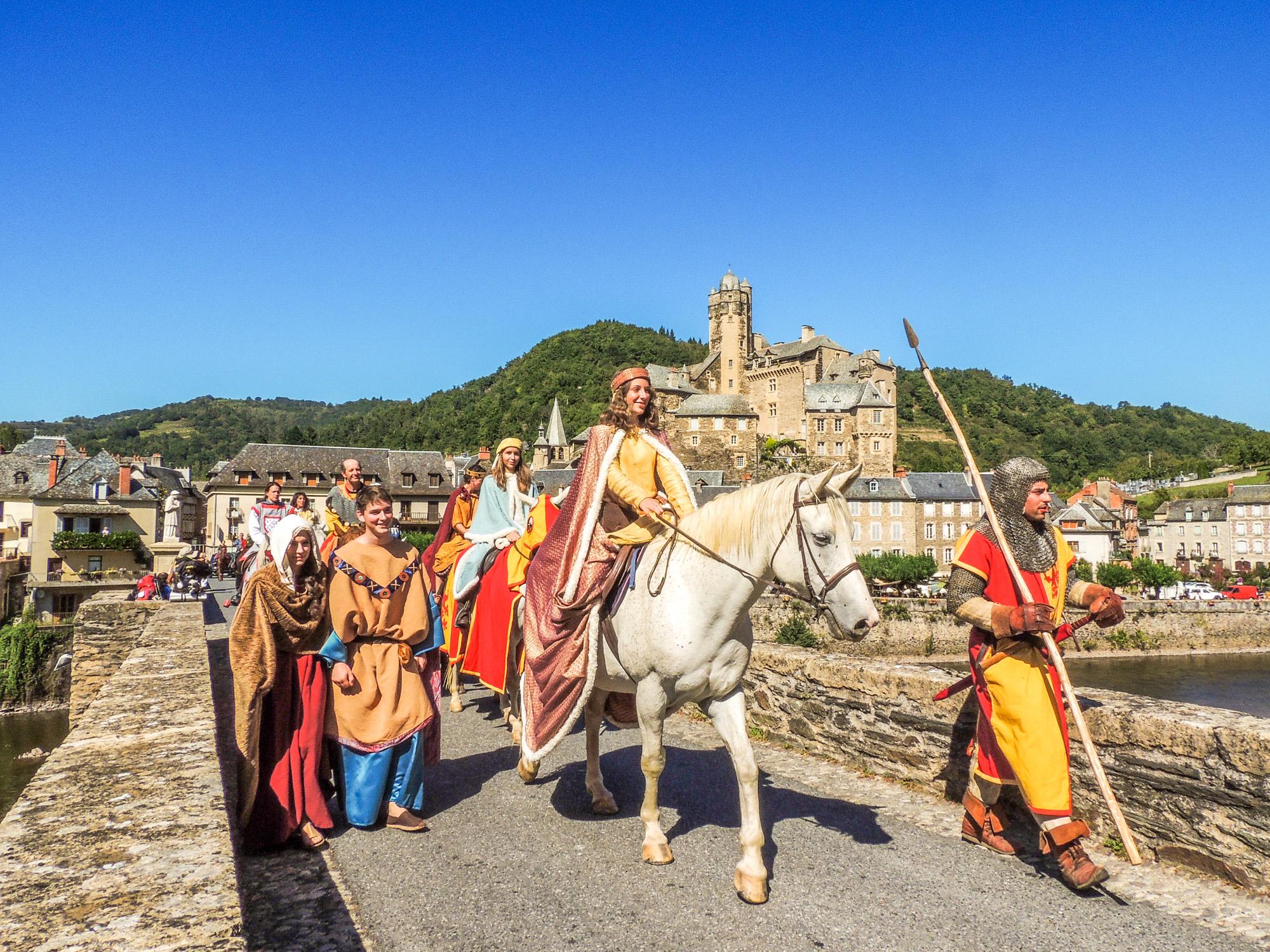 Médiévales d'Estaing, Aveyron