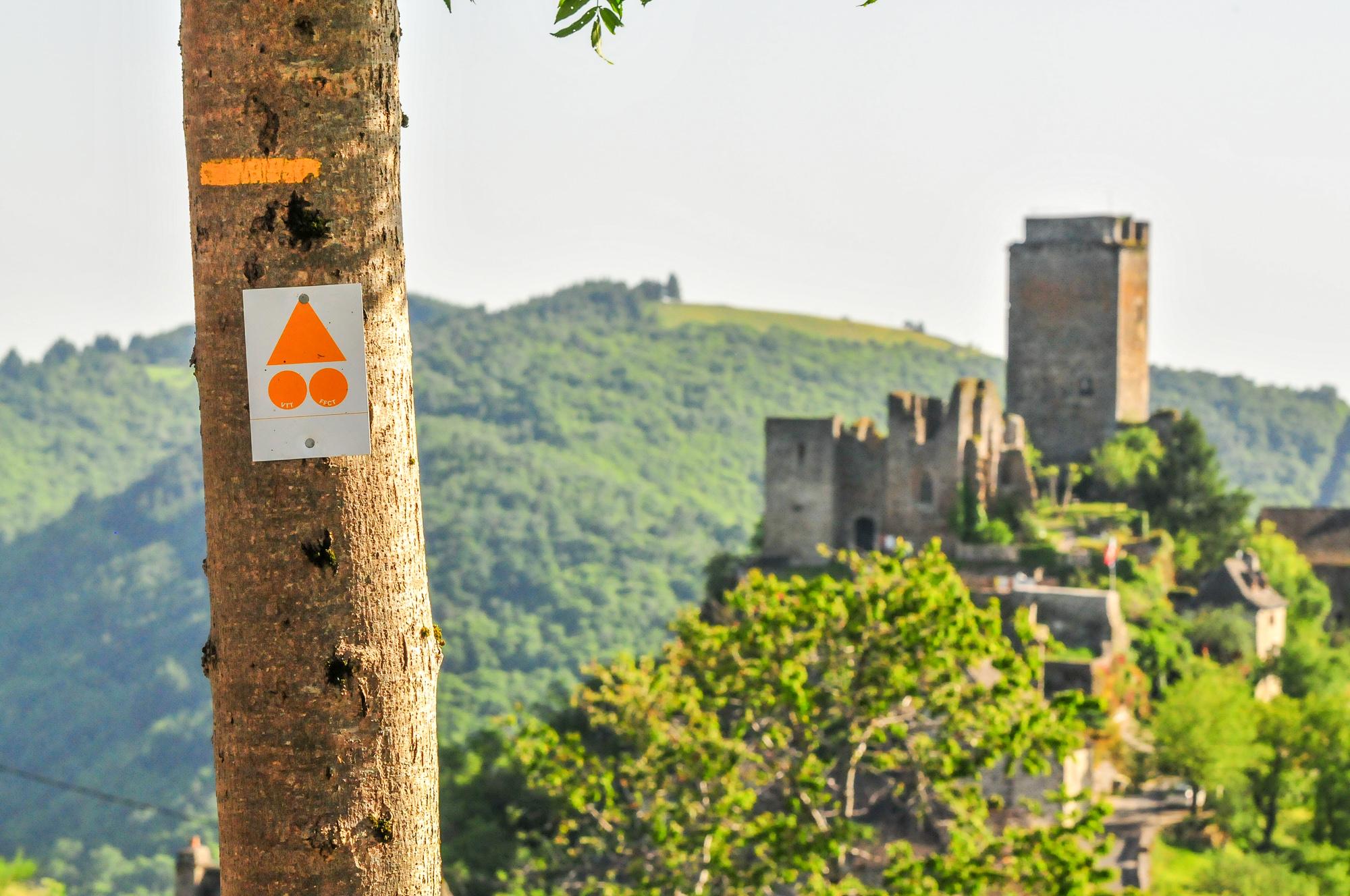 VTT en Carladez, Aveyron © A. Gally - Tendance Montagne