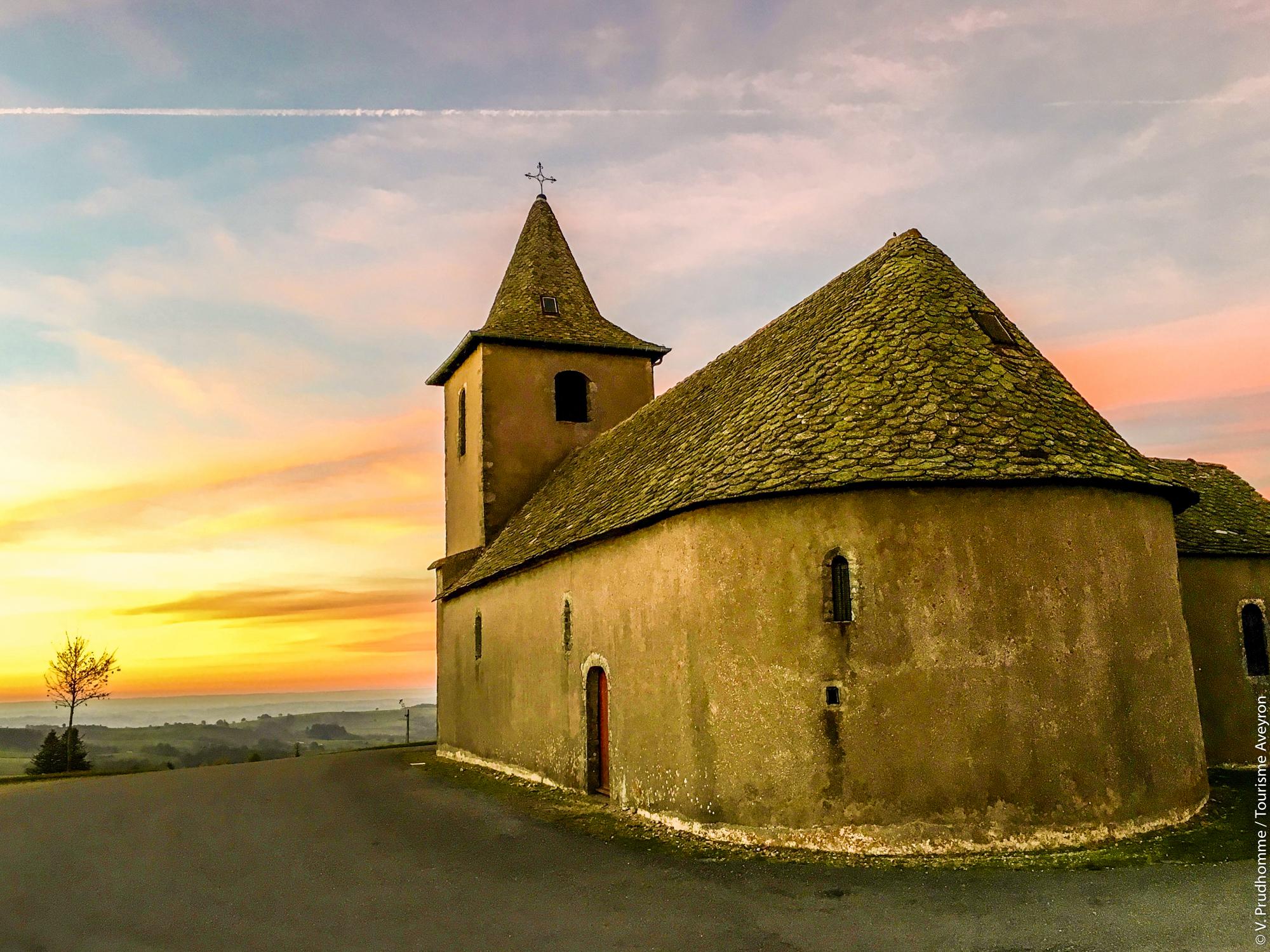 Chapelle de Rieupeyroux © V. Prudhomme - Tourisme Aveyron