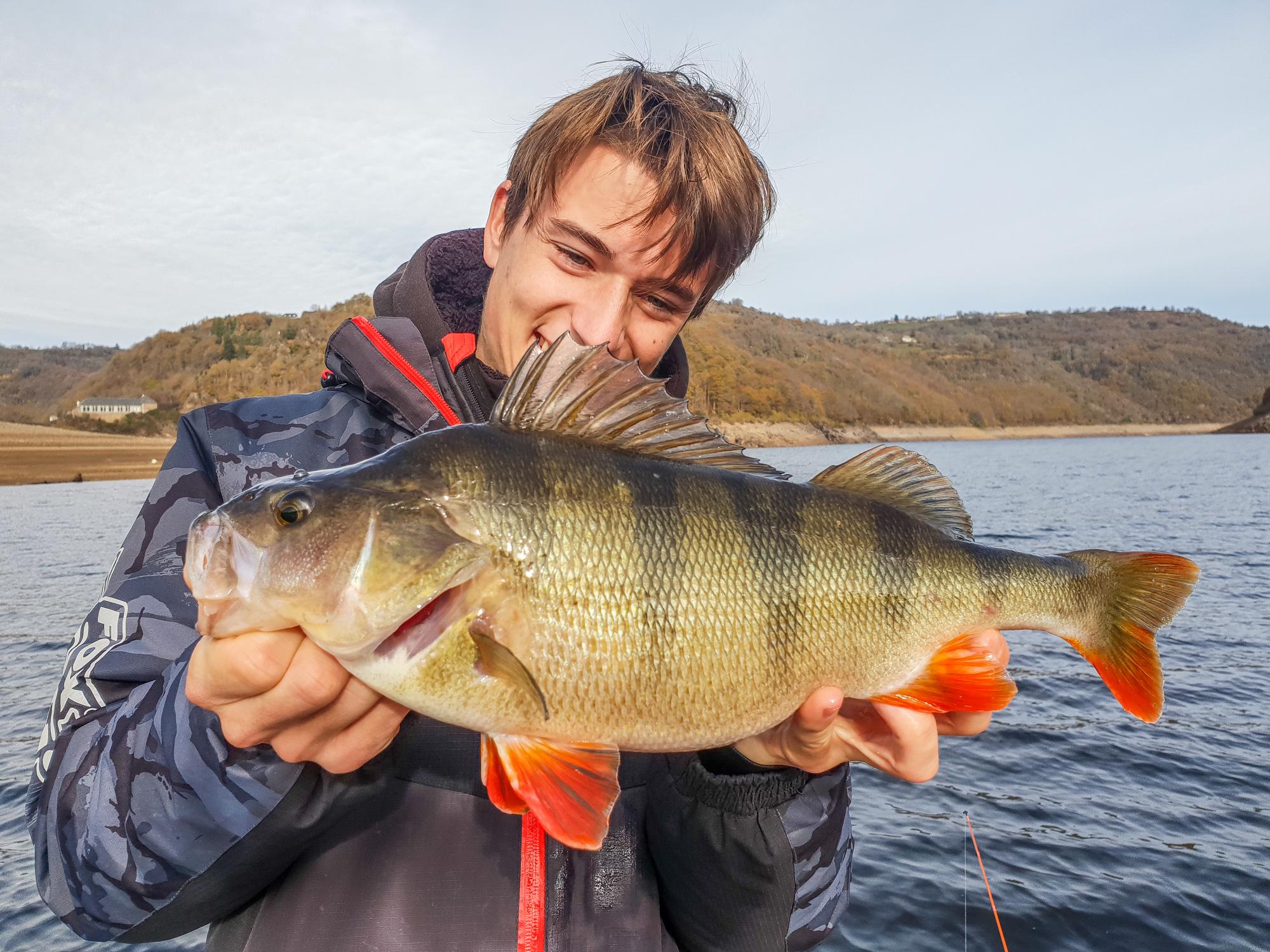 Pêche en hiver en Aveyron © Fédération Pêche Aveyon