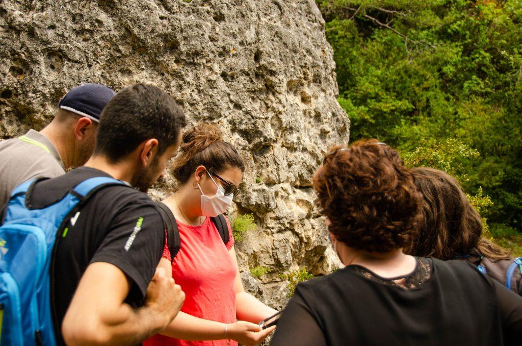Lancement de l'Explor'Games à la Cité de Pierres -©M.Hennessy-Tourisme Aveyron
